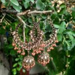 Antique Big Earrings